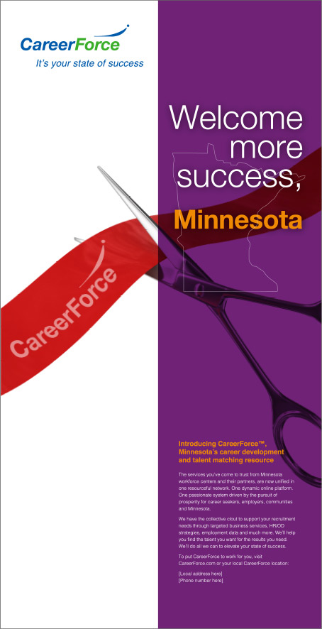 Newspaper ad with title Introduce more success, Minnesota